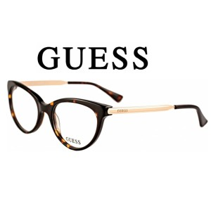 Harga kacamata frame wanita original guess gu2462 to model elegan   | HARGALOKA.COM