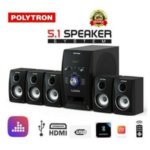 Harga polytron pht 551 speaker system home theater 5 1 channel | HARGALOKA.COM