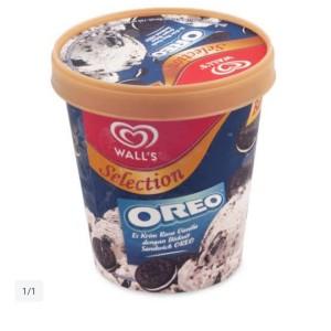 Harga es krim wall 39 s selection vanilla biskuit oreo | HARGALOKA.COM