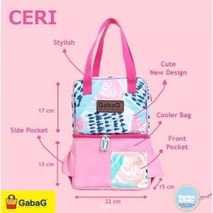 Harga cooler bag gabag ceri pop series free 1 ice   HARGALOKA.COM