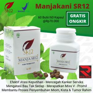 Harga manjakani aceh sr12 herbal obat keputihan kista promil bpom   | HARGALOKA.COM