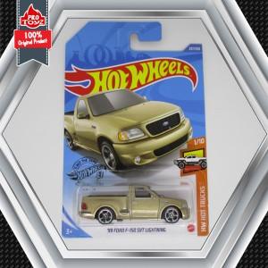 Harga hot wheels 39 99 ford f 150 svt lightning gold lot p   HARGALOKA.COM