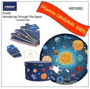 Harga mideer puzzle wandering through the space mainan edukasi anak   | HARGALOKA.COM