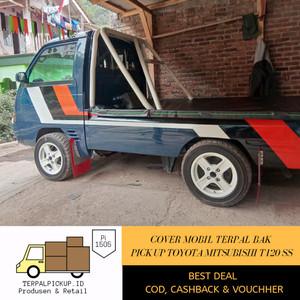 Harga terpal tutup bak mobil pick up mitsubishi flat wide dek t120ss   standar | HARGALOKA.COM