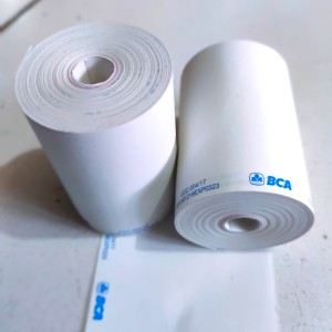 Harga kertas thermal edc logo bank bca ukuran 58x38mm tanpa | HARGALOKA.COM
