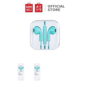 Harga miniso headset earphone kabel earbuds in ear headphone klasik musik   | HARGALOKA.COM