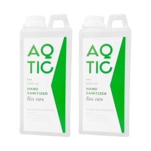 Harga bundling   aqtic hand sanitizer 1 liter   2 | HARGALOKA.COM