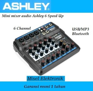 Harga mixer ashley speed up 6 original bluetooth   usb recording 6 | HARGALOKA.COM
