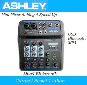 Harga mini mixer ashley 4 speed up with usb mp3 and | HARGALOKA.COM