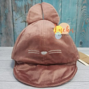 Harga topi anak cap beludru karakter totoro   | HARGALOKA.COM