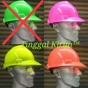 Harga Helm Proyek Safety Helmet Orange Kuning Biru Putih Merah Katalog.or.id