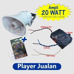 Harga player jualan keliling pengeras suara 20 watt   12v non usb tanpa | HARGALOKA.COM