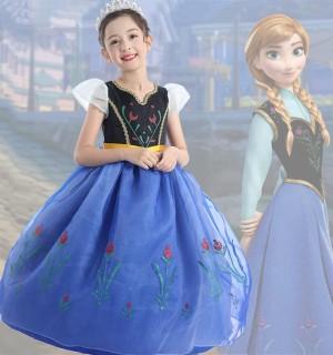 Harga frozen anna elsa disney princess kostum impor dress baju pesta   | HARGALOKA.COM