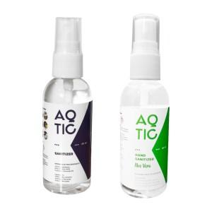 Harga bundling   aqtic sanitizer disinfectant hand sanitizer 60 ml | HARGALOKA.COM