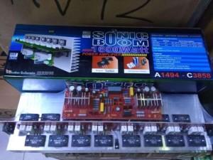 Harga kit power mono amplifier sonic boom 1600w bell bgr   HARGALOKA.COM