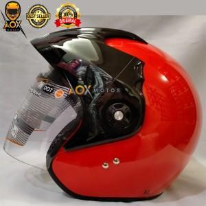 Harga original helm klasik classic batman ink cx 390 ongkir 2 kg solid pls   6 fire | HARGALOKA.COM