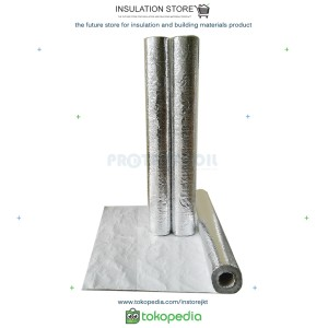 Harga insulasi atap peredam panas metalizing foil woven single | HARGALOKA.COM
