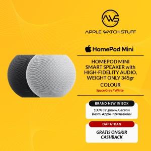 Harga apple homepod mini home pod smart speaker white and space gray     HARGALOKA.COM