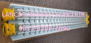 Harga lampu tl fluorescent explosion proof warom hry52 2x36 watt alum | HARGALOKA.COM