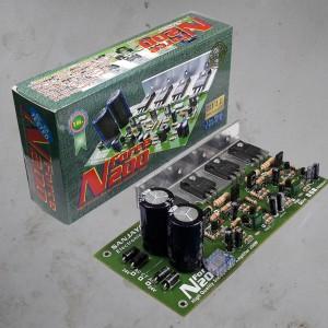Harga kit power amplifier stereo n force 200 bell   HARGALOKA.COM