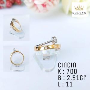 Harga cincin emas kuning 2 51   HARGALOKA.COM