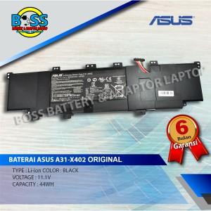 Harga baterai original asus a31 x402 vivobook s300 s400e series 11 1v | HARGALOKA.COM