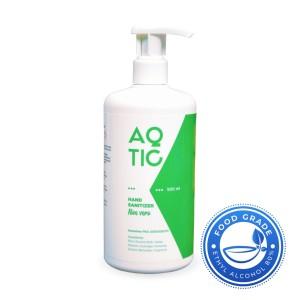 Harga hand sanitizer aqtic 500 ml botol pump ethyl alcohol food grade 80 | HARGALOKA.COM