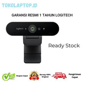 Harga logitech brio webcam 4k ultra hd garansi resmi bukan   HARGALOKA.COM