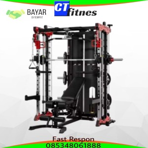 Harga alat angkat beban fitnes multipungsional trainet like usa monster | HARGALOKA.COM