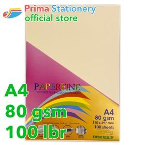 Harga paperfine kertas hvs warna a4 it 100 ivory isi 100 lbr tc | HARGALOKA.COM