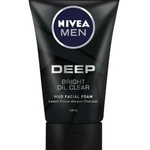 Harga nivea men facial foam   100ml   deep oil | HARGALOKA.COM