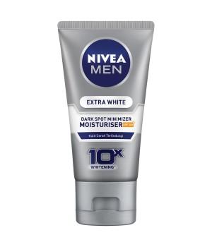 Harga nivea men extra whitening anti dark spot minimizer facial foam 50 | HARGALOKA.COM