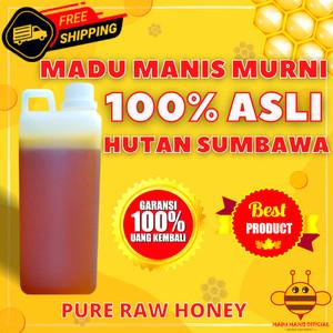 Harga madu asli murni 1kg madu manis hutan sumbawa pure raw honey asli mo9   300 | HARGALOKA.COM