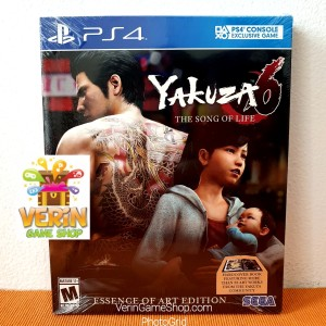 Harga ps4 yakuza 6 the song of life essence of art edition r1 usa | HARGALOKA.COM
