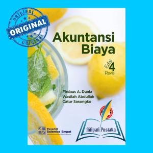 Harga buku akuntansi biaya ed 4 revisi firdaus a dunia | HARGALOKA.COM