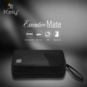 Harga keiy executive mate hand bag tas organizer travel pouch dompet pria   | HARGALOKA.COM