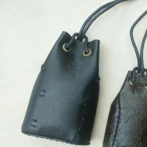 Harga dompet kantong   pouch kulit hitam   gotri ketapel | HARGALOKA.COM
