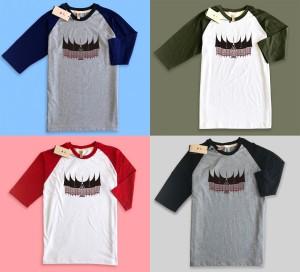 Harga baju kaos raglan premium desain rumah gadang minang padang   HARGALOKA.COM