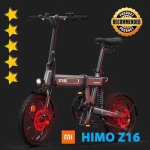 Harga xiaomi himo z16 sepeda lipat elektrik   smart bicycle 36v250w 80km   | HARGALOKA.COM