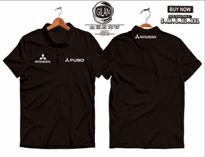 Harga polo shirt kaos kerah mitsubishi fuso canter truk polo mobil | HARGALOKA.COM