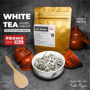 Harga premium white tea silver needle teh putih kualitas ekspor | HARGALOKA.COM