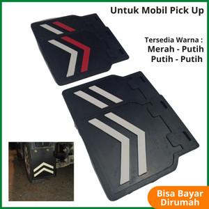 Harga karpet lumpur mobil mudguard pick up universal suzuki futura ss l300   putih   | HARGALOKA.COM