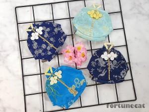 Harga angpao imlek sangjit cheong sam biru muda   motif | HARGALOKA.COM
