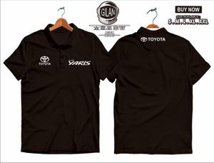Harga polo shirt kaos kerah all new yaris mobil toyota polo otomotif   | HARGALOKA.COM