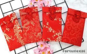 Harga angpao imlek sangjit lamaran kawinan kain premium kancing vertikal   | HARGALOKA.COM