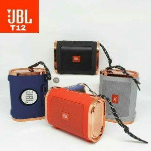 Harga speaker bluetooth jbl t12 portable speker music box wireless | HARGALOKA.COM