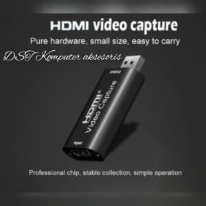 Harga usb capture card hdmi 1080p video recording gaming youtube screen | HARGALOKA.COM