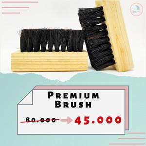 Harga premium brush sikat bulu kuda berkualitas untuk cuci sepatu dan   HARGALOKA.COM