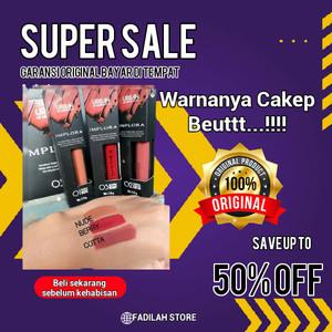 Harga implora urban lip cream matte original bpom   lipcream   dusky   HARGALOKA.COM