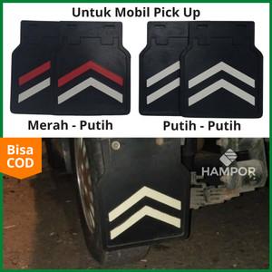 Harga mudguard mobil universal lumpur pick up suzuki carry l300 ss futura   putih   | HARGALOKA.COM